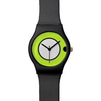 May28th clock old Lime and Gray Wrist Watch