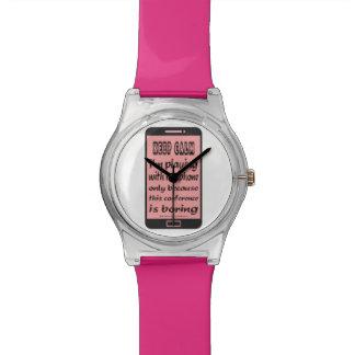 May28th Watch Pink Keep Calm Phone