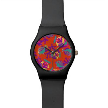 Beach Themed May28th watch with tropical fish design