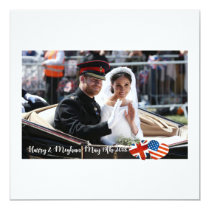 May 19th 2018: When Harry married Meghan Card