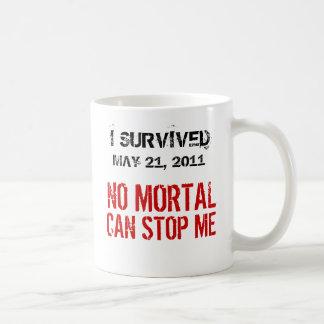 May 21, 2011 No Mortal Can Stop Me Coffee Mug