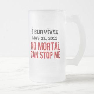 May 21, 2011 No Mortal Can Stop Me Travel Mug