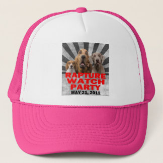 May 21, 2011 Rapture Watch Party Shirt Trucker Hat