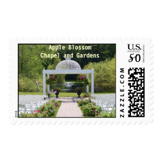 May 22 outdoor aisle 2010, Apple BlossomChapel ... Postage