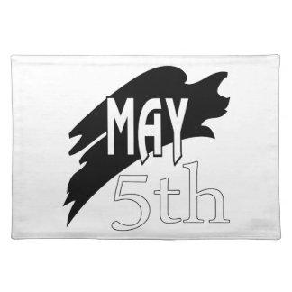 May 5th place mat