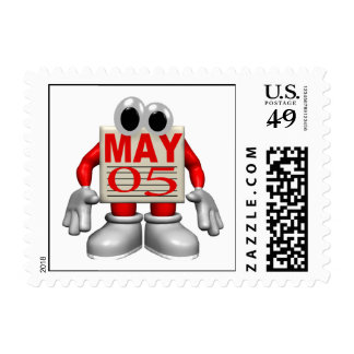 May 5th stamp