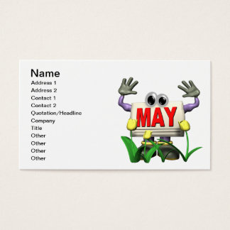 May 7 business card