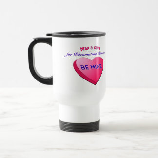 May a cure BE MINE (Your text here) thermal cup
