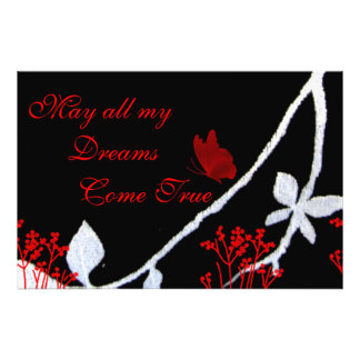 May All My Dreams Come True Photo Print