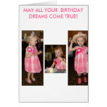 May All Your Birthday Dreams Come True! Greeting Card