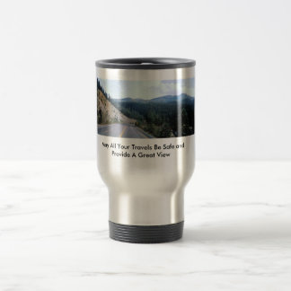 May All Your Travels Be Safe and Provid... Travel Mug