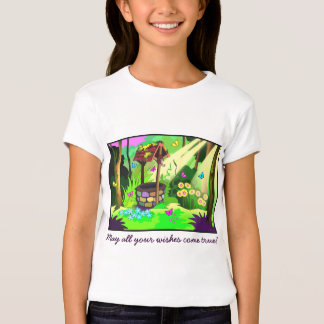 May All Your Wishes Come True Wishing Well T-Shirt
