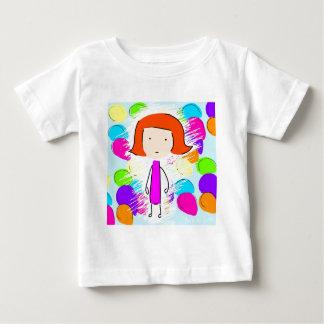 May and Balloons Baby T-Shirt