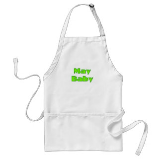 May Baby Adult Apron
