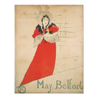 May Belfort by Henri de Toulouse-Lautrec Photograph