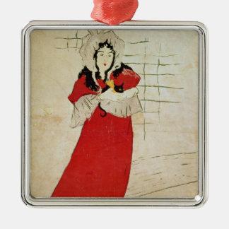 May Belfort, France, 1895 Metal Ornament
