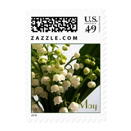May Birth Flower - Lilly of the Valley Postage