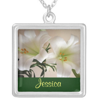MAY Birth Flower - Lily Necklace