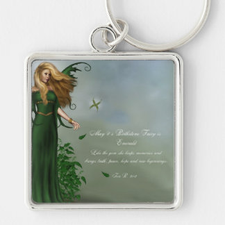 May Birthstone Fairy Key Chains