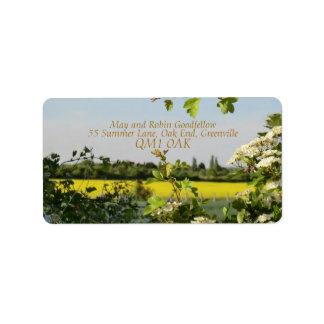 May Blossom Handfasting Address Labels Address Label