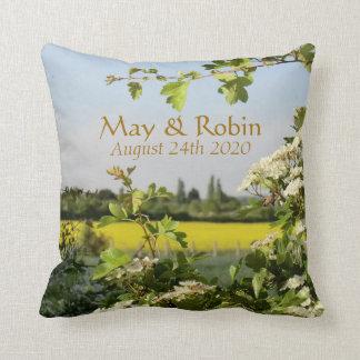 May Blossom Pillow Handfasting Gift for Pagans