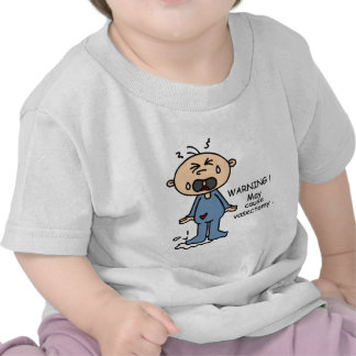 May Cause Vasectomy Baby (Blue) Tshirts