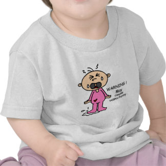 May Cause Vasectomy Baby (Pink) Tshirts