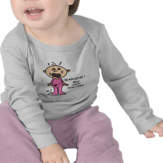May Cause Vasectomy Baby (Pink) Tee Shirt