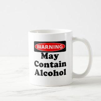 May Contain Alcohol Coffee Mug