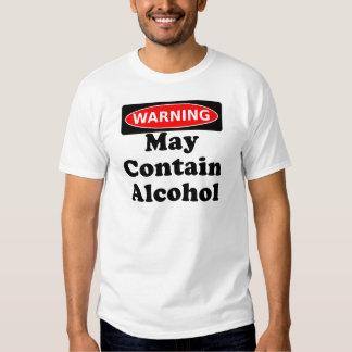 May Contain Alcohol Tee Shirt