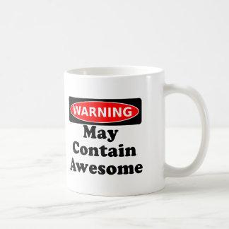 May Contain Awesome Coffee Mug