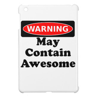 May Contain Awesome iPad Mini Covers
