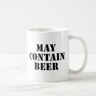 May Contain Beer Coffee Mug
