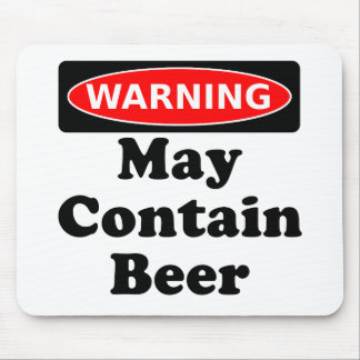 May Contain Beer Mouse Pads
