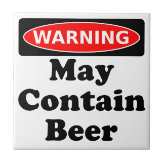 May Contain Beer Tile