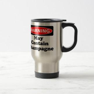 May Contain Champagne Travel Mug