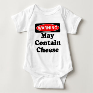 May Contain Cheese Infant Creeper