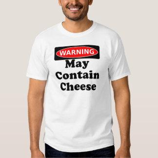 May Contain Cheese Tee Shirt