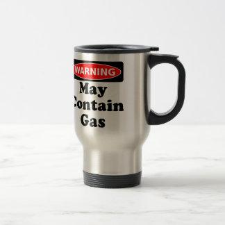 May Contain Gas Travel Mug