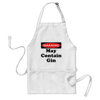 May Contain Gin Adult Apron