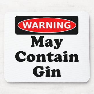 May Contain Gin Mouse Pad