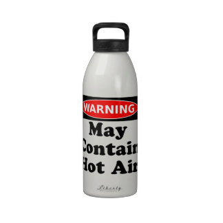 May Contain Hot Air Water Bottles
