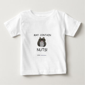 May Contain Nuts Winter White Hamster Baby T-Shirt