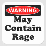 May Contain Rage Sticker