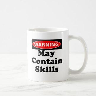May Contain Skills Coffee Mug