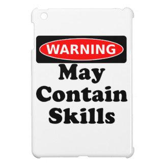 May Contain Skills iPad Mini Covers