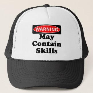 May Contain Skills Trucker Hat