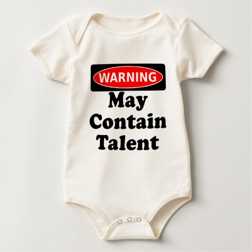 May Contain Talent Bodysuit
