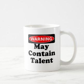May Contain Talent Coffee Mug