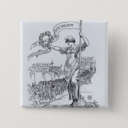 May Day, 1907 Button